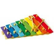 Xylophone en couleur 8 notes