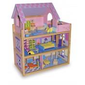 Maison de poupée Rose