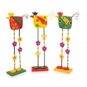 Oiseaux de décoration