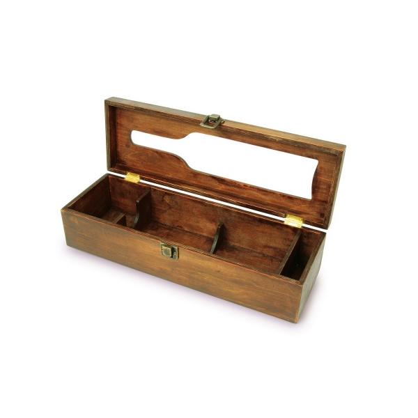 caisse bois vin trouvez le meilleur prix sur voir avant d 39 acheter. Black Bedroom Furniture Sets. Home Design Ideas