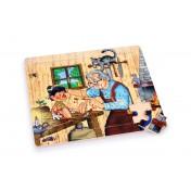 Puzzle en bois Atelier de Gepetto