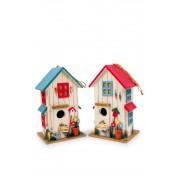 Maison pour oiseau Villa des couleurs