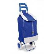 Chariot à provisions Bleu'