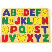 Puzzle en bois à poser ABC