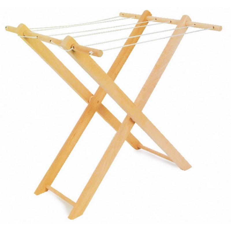 S choir linge - Fabriquer un etendoir a linge exterieur en bois ...