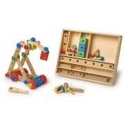 Boîte de construction en bois