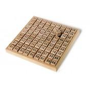 Table à calcul en bois Multiplication