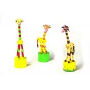 Animaux poussoir Girafes