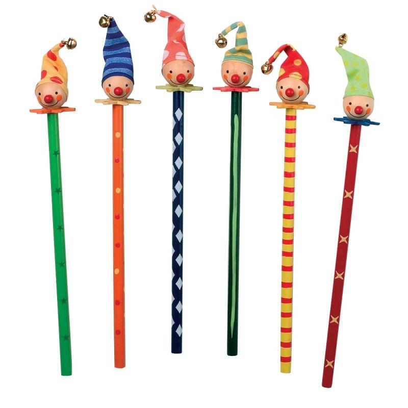 Crayons papier clowns for Articles papeterie bureau