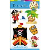 Autocollants Pirates