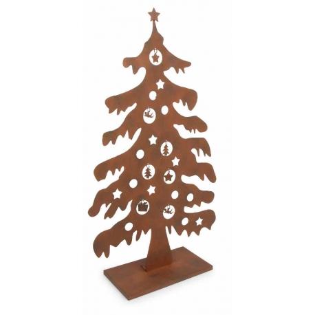 D co arbre de no l en m tal for Arbre de noel en bois