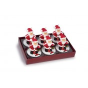 Bougies chauffe-plat Père Noël