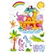 Autocollants déco Arche de Noé