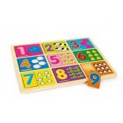 Puzzle à poser «Apprendre les chiffres»