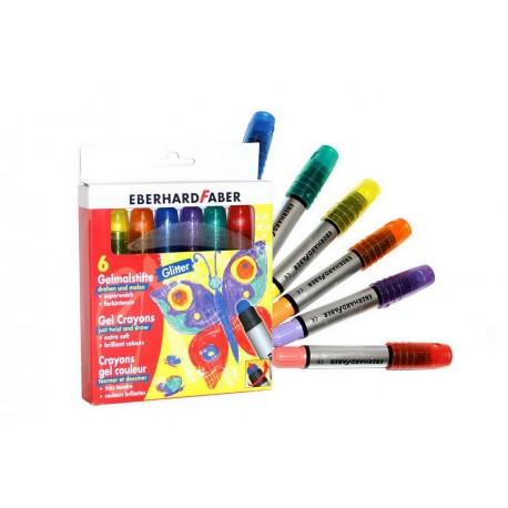 Crayons gel paillettes for Peinture boiro jeu deffet paillettes