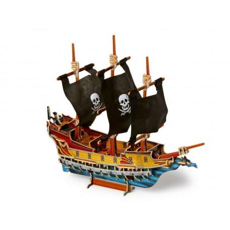 Bateau de pirates en 3D