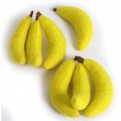 Bananes en feutre