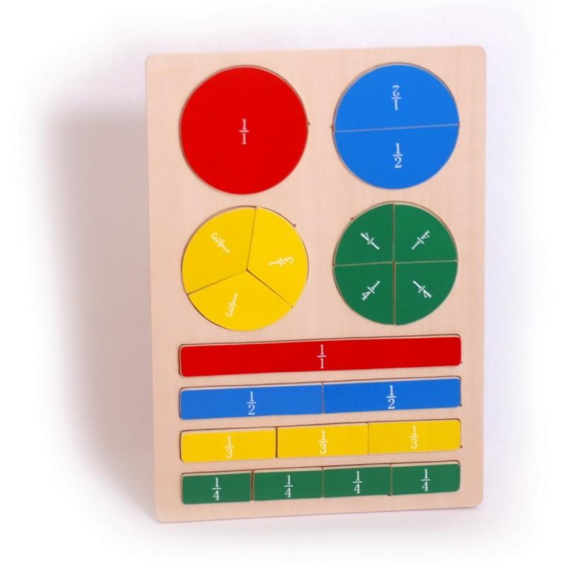 Puzzle en bois pros du calcul - Calcul quantite peinture ...