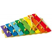 Xylophone en couleur 8 notes