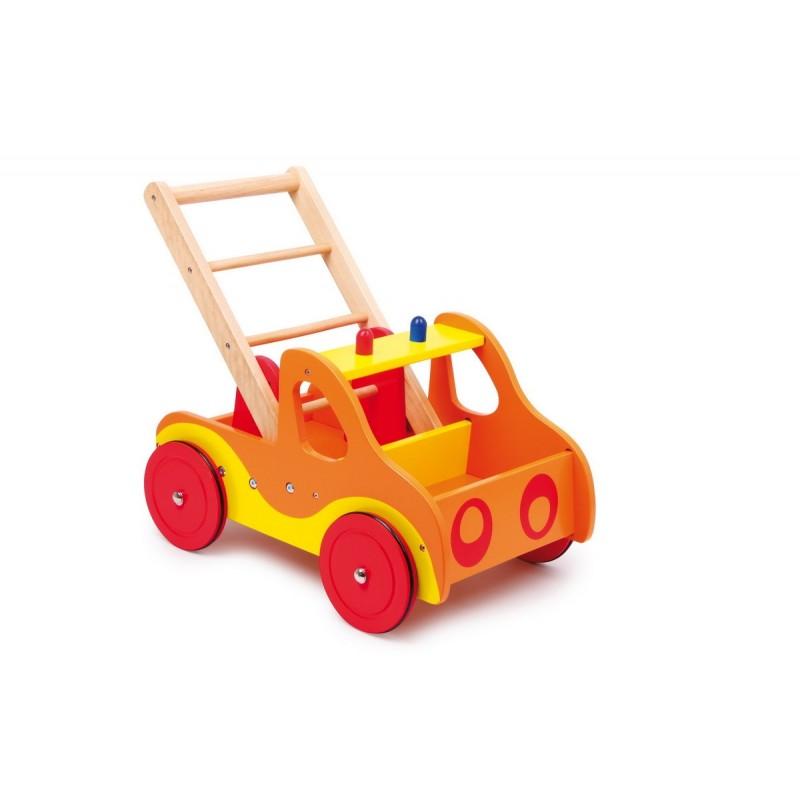 chariot de marche sur roulette pompier. Black Bedroom Furniture Sets. Home Design Ideas