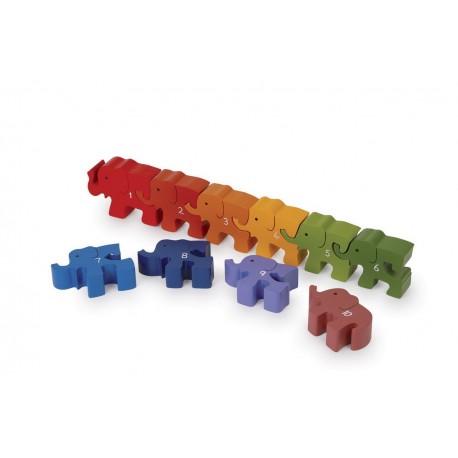 Caravane d'éléphants