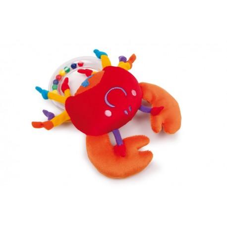 Hochet pour bébé Crabe