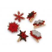 Pinces décoratives