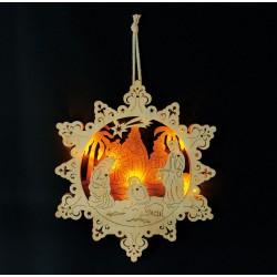 Lampe Crèche d'étoiles