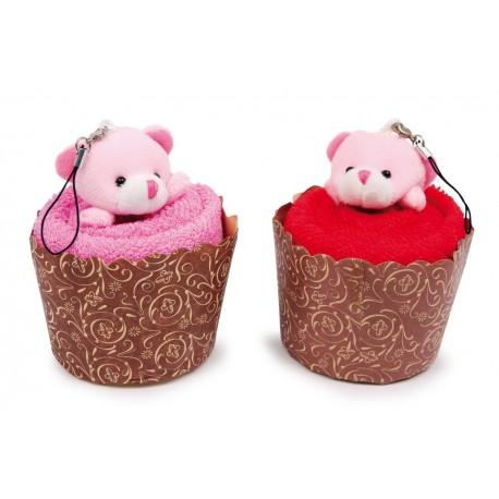 Serviettes-muffins Ours