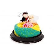 Serviettes-Gâteau Couple de mariés