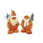 Décorations Bonhomme de neige et père Noël