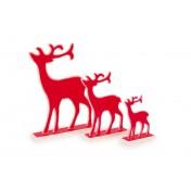 Elans de décoration Rouge