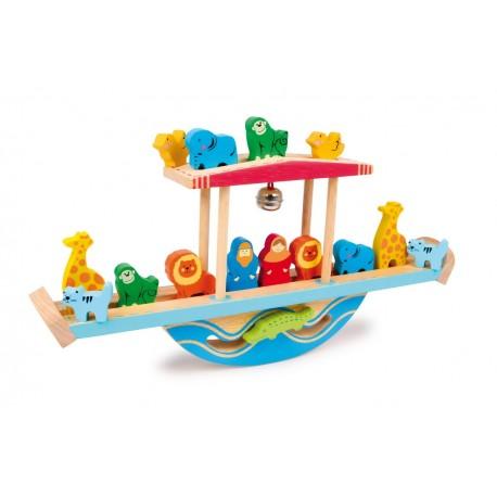Balancier en bois Arche de Noé
