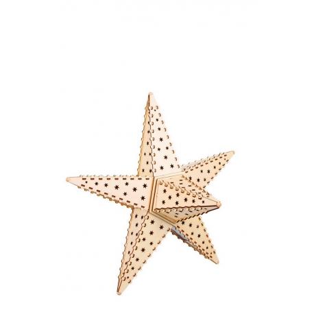 Lampe étoile Nature