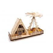 Lampe Pyramide de Noël