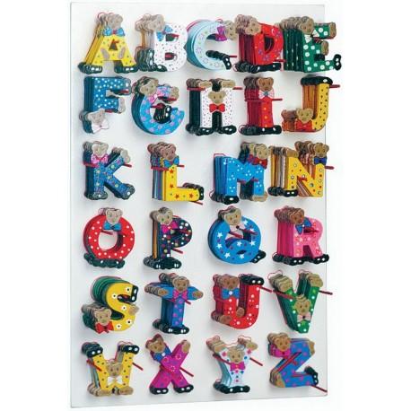 Lettres de l'alphabet de A-Z