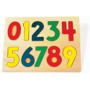 Puzzle en bois à poser Chiffres