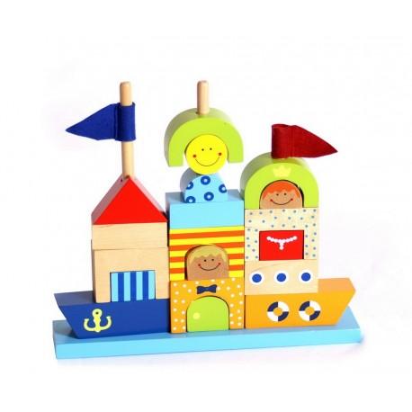 Château à construire en bois