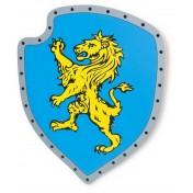 Panneau Lion jaune
