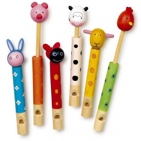 Flûtes Animaux