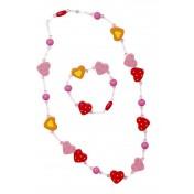 Parure de bijoux Coeurs