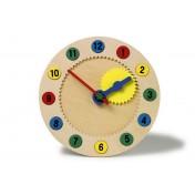 Horloge en bois magnétique des chiffres