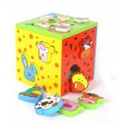 Cube de motricité 2 en 1