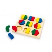 Le puzzle de géométrie en bois LEGLER