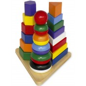 Pyramide en bois 3 en 1