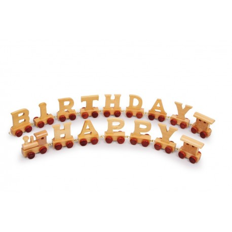 Train d'anniversaire Happy birthday