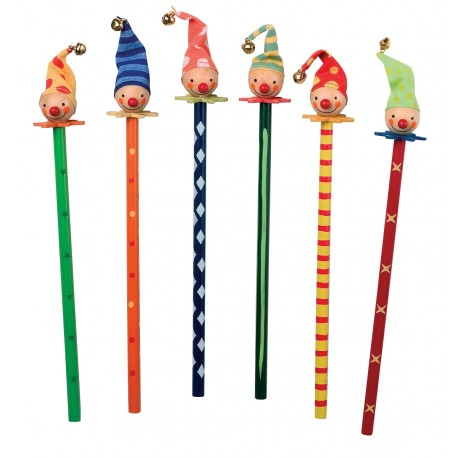 Crayons à papier Clowns