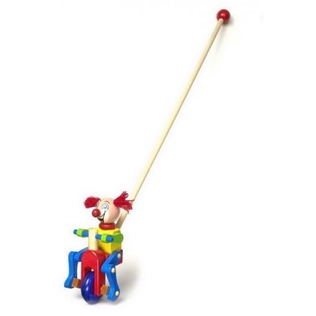 Clown à pousser Rouquin