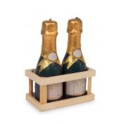 Bougies Bouteilles de champagne