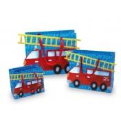 Sacs en papier Pompiers